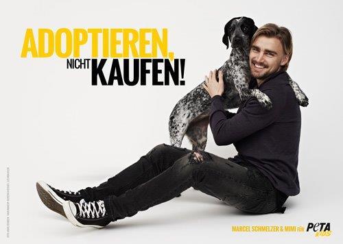 Marcel Schmelzer PETA Motiv