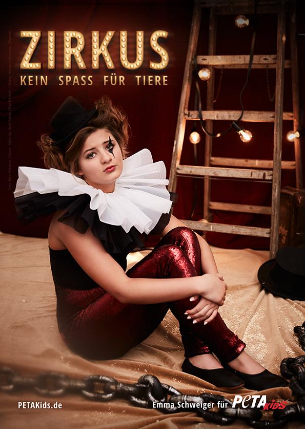 emma schweiger tiere im zirkus nein danke petakids. Black Bedroom Furniture Sets. Home Design Ideas