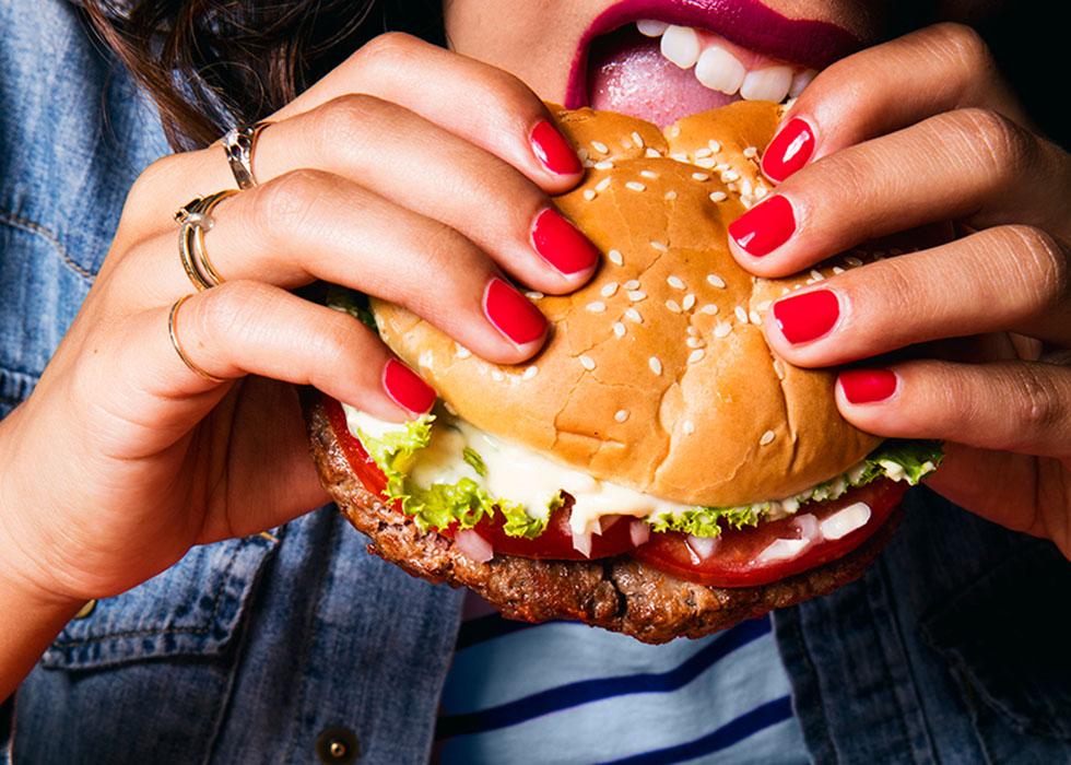 Veganer Bruger von Impossible Foods