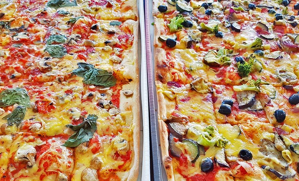 Lieblingsessen vegane Pizza